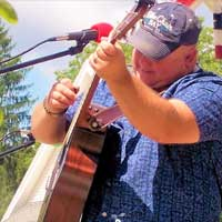 Musician Joe Macey is performing at 3